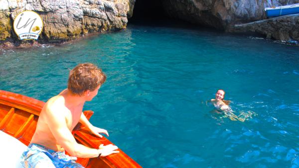 Grotta dello Smeraldo Emerald Grotto Amalfi Coast